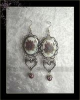 Earring Cameo Colgante Camee by Amelyse