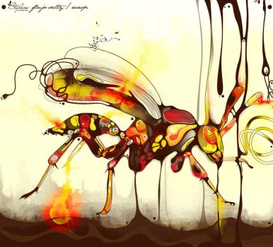 wasp by saltyshadow