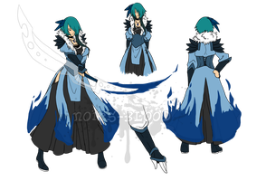 Bleach ref -- Bankai form by Noir-fox5