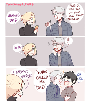 YOI: THANKS DAD by Randomsplashes