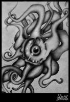 Octopus Tattoo Design by lady-decay