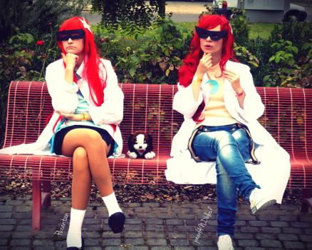 Test Sisters cosplay I. by pearlANDblood
