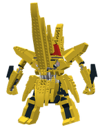 Lego King Kittan by g2mdluffy