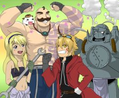League of Legends x FMA Mashup by KittyConQueso