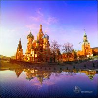 St. Basil`s Cathedral Moscow by inObrAS