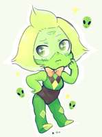 alien dorito by aku-no-apple