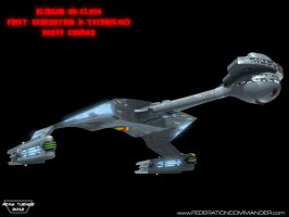 Klingon DX-Class X-Cruiser 4 by Adam-Turner