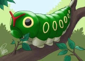 DrawingDay Caterpie by twapa