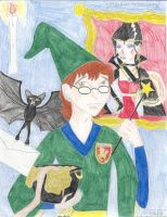 Presto Goes to Hogwarts by Captain-Chaotica