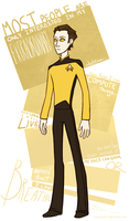Lieutenant Commander Data by CrystallizedTwilight