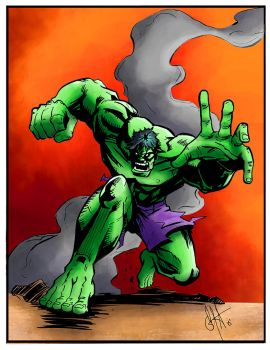 Hulk Colored by cueball37