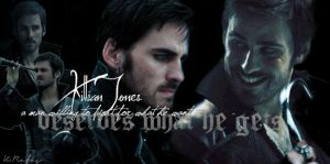 Killian Jones/ Captain Hook by rainingonsunday21
