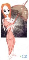 Lluvia, pasion. by Ce8