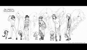 World tour 13 documentary sketches by KaZe-pOn