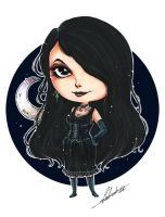 Special Comm Chibi - Hecate by Calicot-ZC