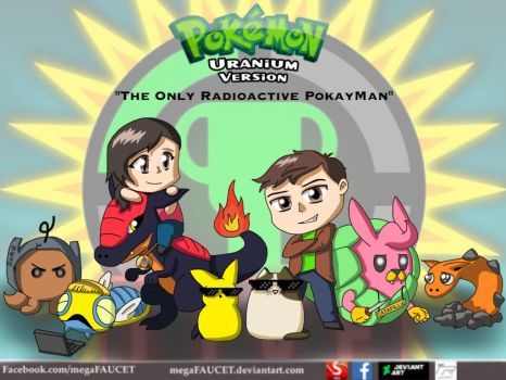 GTLive Fan Art - Pokemon Uranium by megaFAUCET
