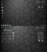 Rainmeter: HiddenIcons by ReverendDC