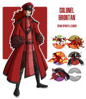 Fakemon: Team Sparta Leader - Brontan by MTC-Studio