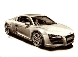 Audi R8 by tin23uk