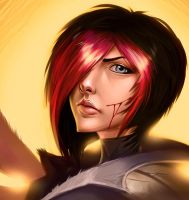 Fiora the Great Duelist by UnnamedPro