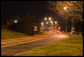 Car lights by Tain0s