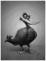 Duck - Sketch by JoseAlvesSilva