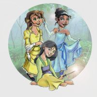Mulan Jane Tiana 2013 (Requested)t by BrianTyson