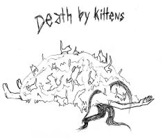 Death by kittens by LoveoftheDark