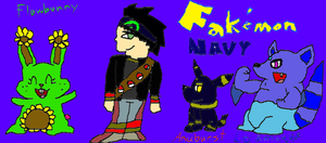 Fakemon Navy Trainer by SonicFreak4455