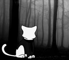 Slender Cat by Kittensinbaskets