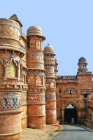 Fort Gwalior 2 India by CitizenFresh