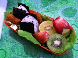 onigiri nugget bento 2 by plainordinary1
