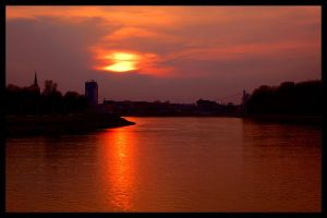 Drava Sunset by photonFUEL