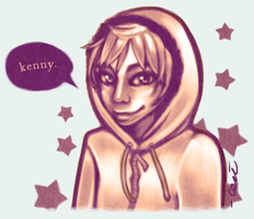 SP - Kenny Monochromatic by cerena