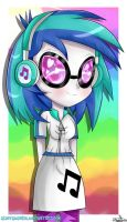 Vinyl Scratch -Profile- by lSweetPillow