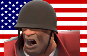 Soldier's Unites States of Painis by BoltandVulpix