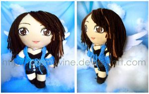 Rinoa cookie plushie by prismtwine