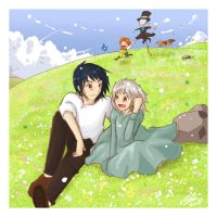 ...Howl's Moving Castle... by CLassicNightmare