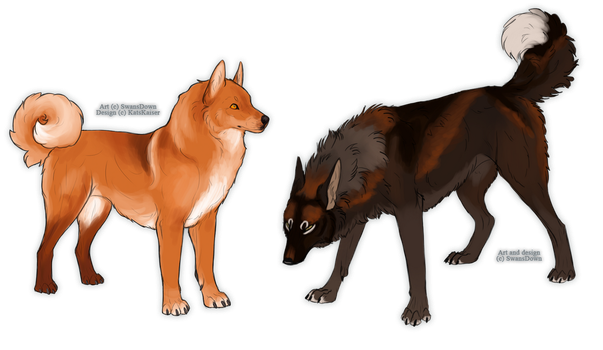 Katla and Kyrr - Home contest by SwansDown