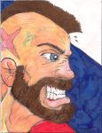 Zangief by Punch-line-designs
