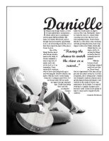 Autobiography Layout by DanielleHope