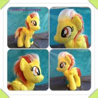 Mlp inspired Spitfire Plush by Littlestplushoppe