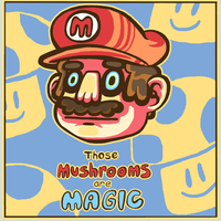 Magic Mushrooms by megzon
