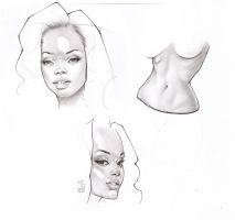 Pencil Exercises by MarcoGuaglione