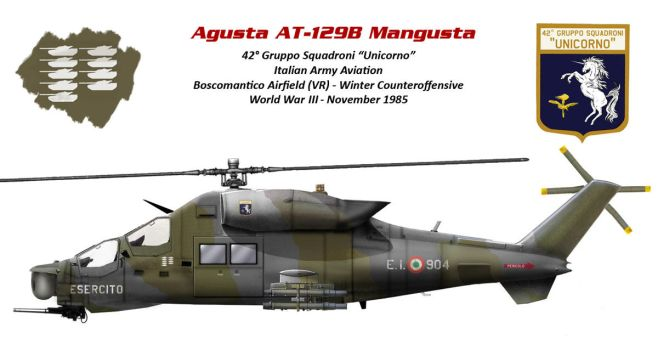 Agusta AT-129B Mangusta (Italian Hind) by db120