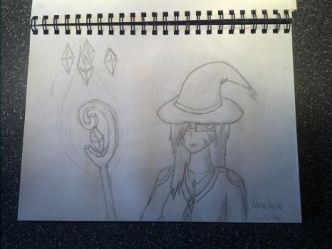 Penelope: the Crystal Mage by ecc0w0lf