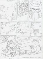 DZX, DXT: Knights of Violence pg13 by BlueIke