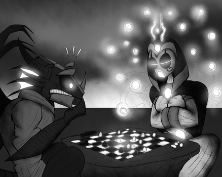A Game Of Chess by Finjix