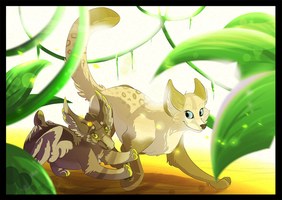Collab: Clove and Eek by xMissLight