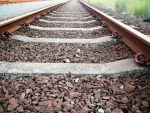 stock image 06 train tracks by M10tje